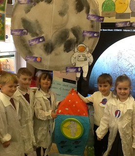 Year 1 Reach for the stars on their Space Day!