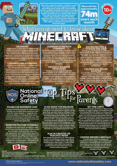Minecraft parents guide 091118 1