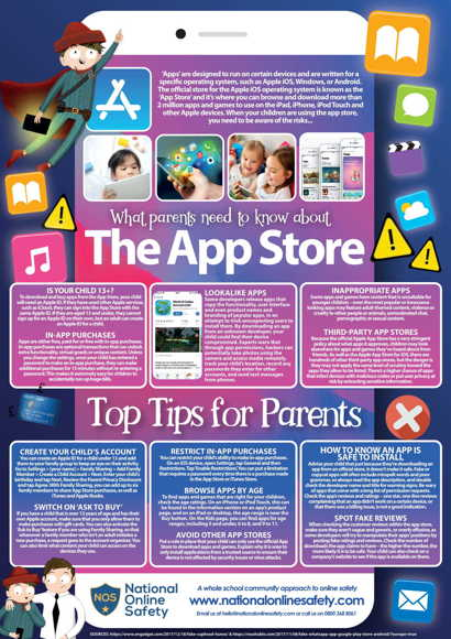The app store parents guide september 2018 1 1