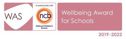 WAS NCB 2019 2022 Well Being Award Logo