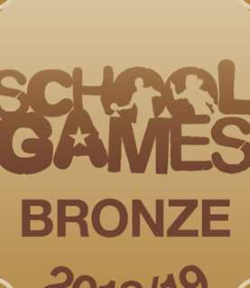 Bronze Award for School Games