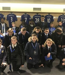 A visit to Chelsea FC's stadium Stamford Bridge....
