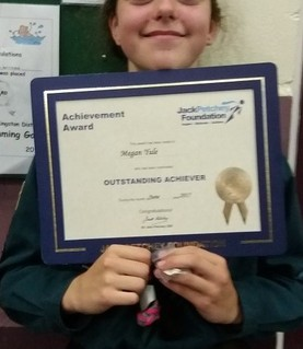 Megan Yule - Scout Troop Award