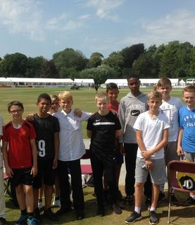 Year 7/8 cricket team visited Arundel Castle Cricket Ground