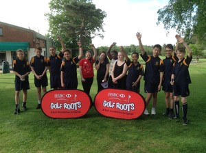 Year 8 girls golf