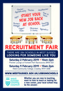 School Careers Recruitment A1 poster