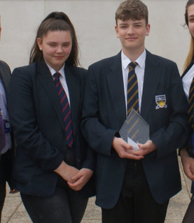 Crawley students win fundraising award