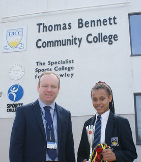 Crawley student fighting her way to Olympic success