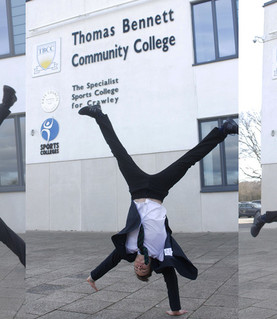 The Crawley student who is inspiring everyone