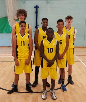 Basketball team yr10 and 11