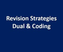 Revision strategies dual coding