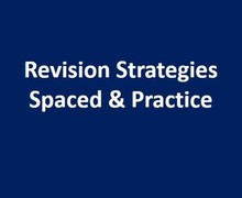 Revision strategies spaced practice