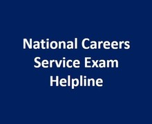 National careers service exam