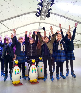 Crawley ice rink opens with the help of Thomas Bennett students