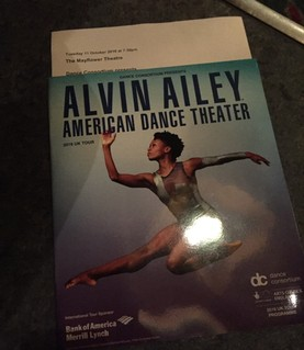 A group of 15 dance students went to Southampton's Mayflower Theatre on Tuesday 11th October to watch a dance performance by Alvin Ailey American Dance Theatre............