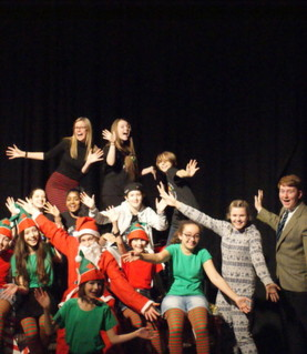 "Impact Theatre Company performed their Christmas performance; ""The Night Before Christmas"