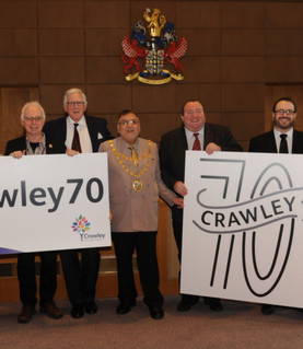 Crawley council are wanting to celebrate the 70th anniversary of the areas New Town status in 2017..