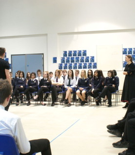 TBCC enjoys a visit from Shakespeare