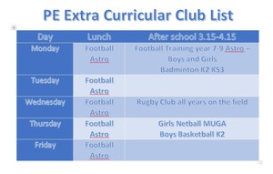 Pe extra curricular jan 2017