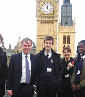 Houses of Parliament Trip with MP Mr. Henry Smith